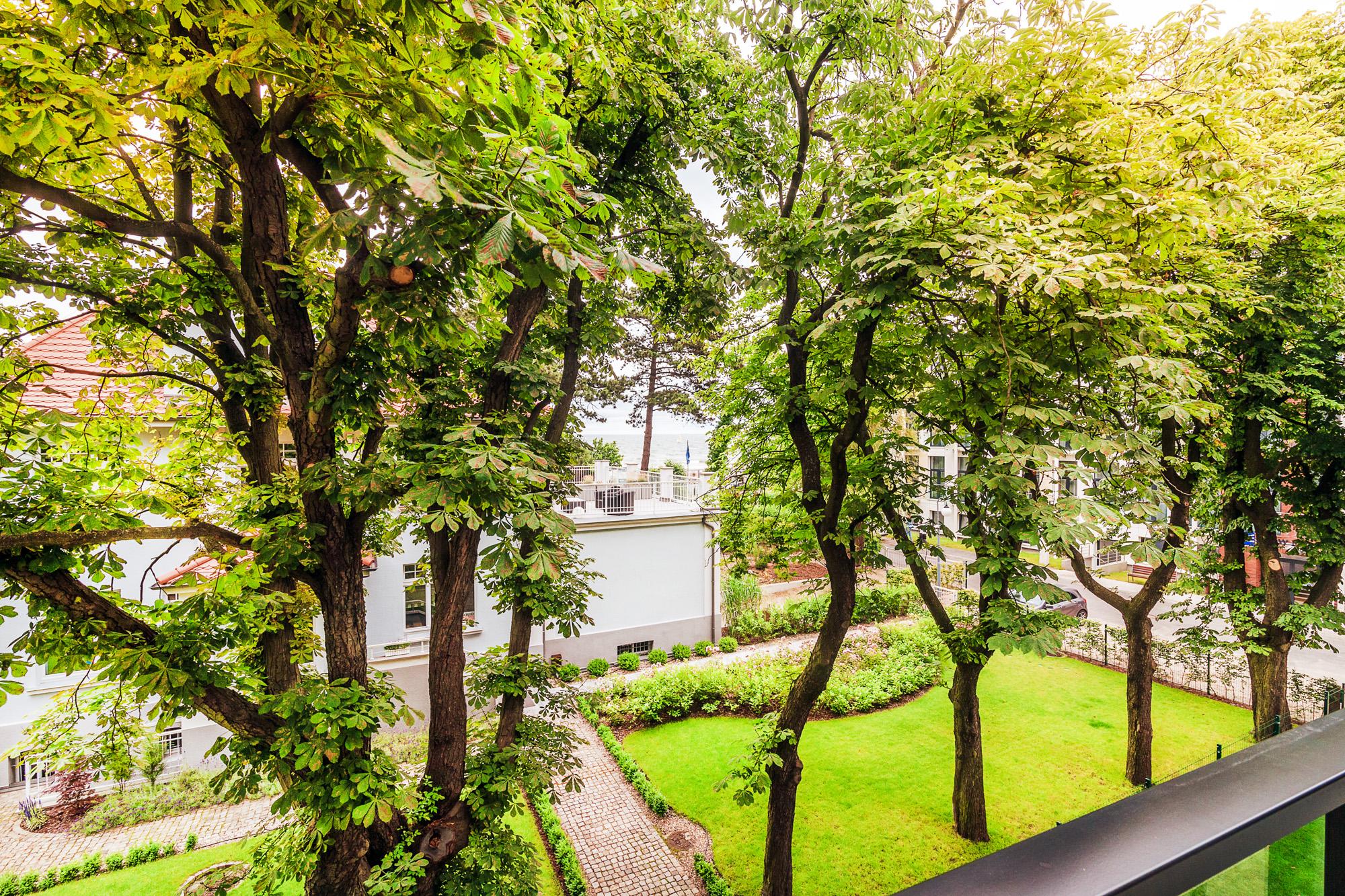 Hotel Testa - Ogród